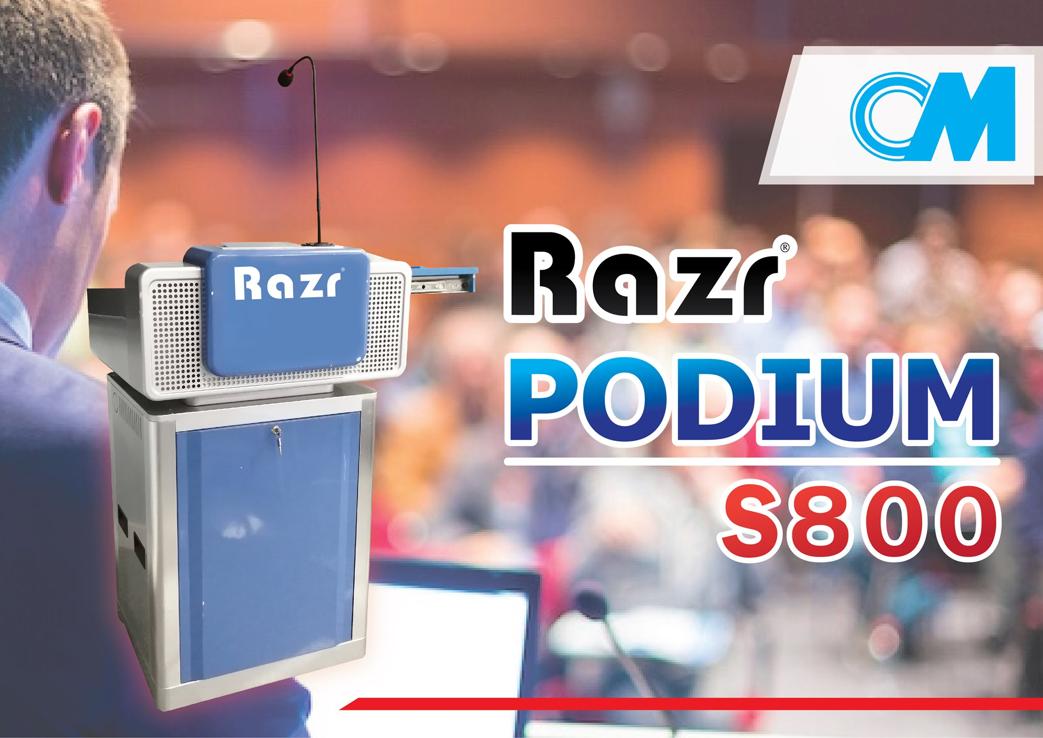 Razr Podium  S800